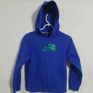 The North Face Boys Small Hoodie Blue Pullover S